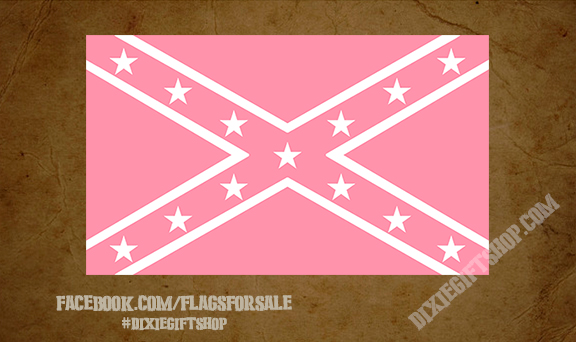 Rebel - Pink Flag